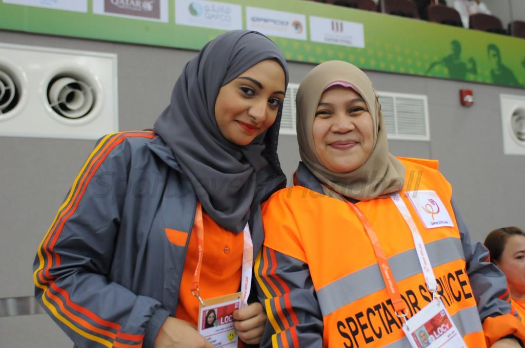 大会を支えるボランティアスタッフ