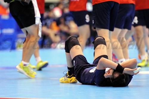 試合後、韓国が喜びに沸く中、悔しさを抑えられなかった石立