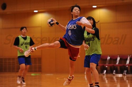 アジア女子ユース選手権も経験している林(写真)らがチームをまとめる役割を担う