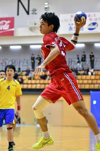 国士舘大・吉田はチーム最多の8得点を奪い勝利に貢献