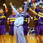 九州1位の大分雄城台に勝利して喜びを爆発させた藤代紫水セブン