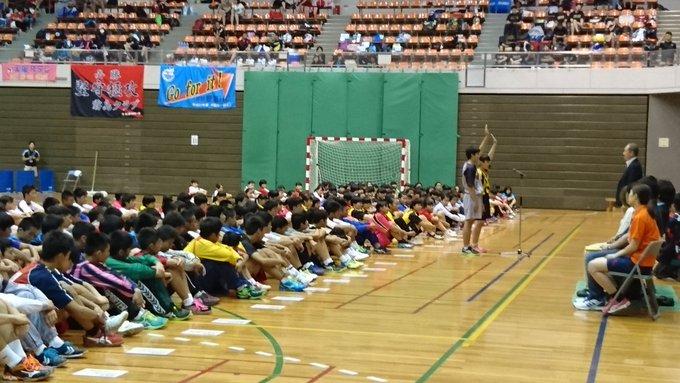 開会式での選手宣誓