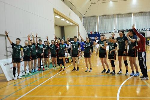 チーム一丸となり大会5連覇を果たした北國