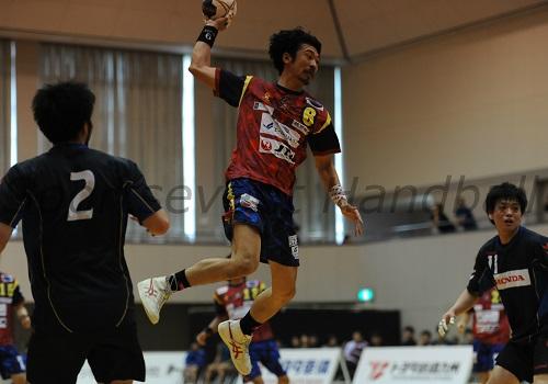終盤のシュートチャンスを確実に決めて逆転勝利に貢献した琉球・赤塚