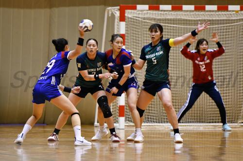 準決勝ではDFが機能し失点を19点に抑えた北國。日本リーグ女王の威厳を示せるか。